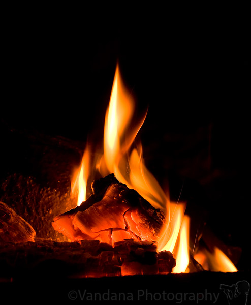 January 3, 2010 - And the fire will keep you warm