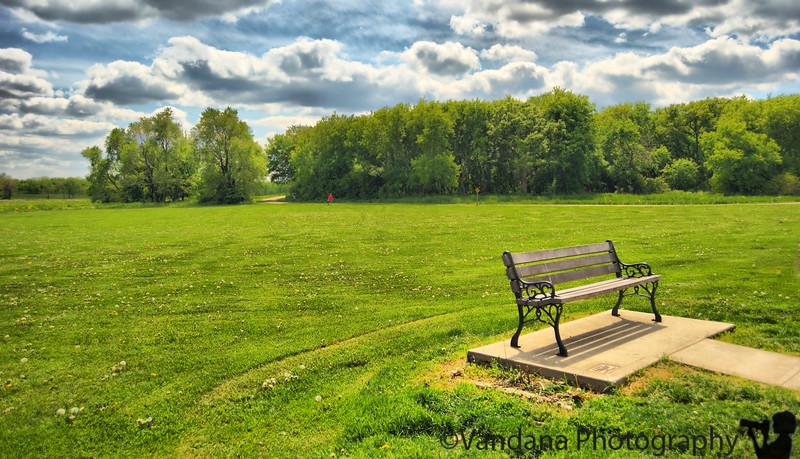 May 26, 2010 - Park bench