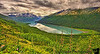 July 4, 2010 - A view from the top - Eklutna lake<br /> <br /> a uphill hike to a blue glacial lake in the Chugach state park, Alaska - ah, the beauty that's America ! happy 4th of  July !