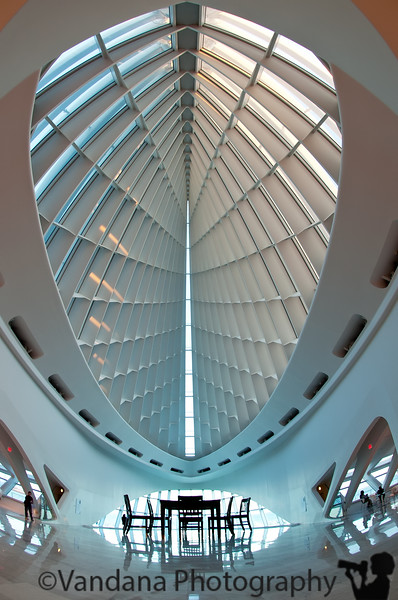 November 28, 2010 - the Windhover hall at the Milwaukee Art Museum