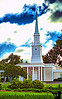 October 3, 2010 - a church in the storm