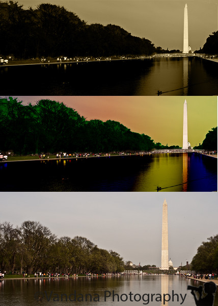April 4, 2010. good, bad & ugly. <br /> sometimes one arrives at the washington monument at noon. then one turns to ps for help :)<br /> btw the bottom one is the original.