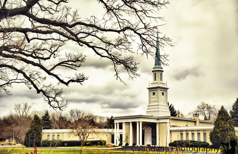November 17, 2010 - a church in the storm