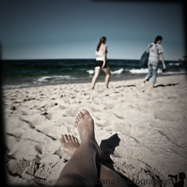 September 15, 2010 - a day at the beach, in Holga mode