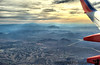 January 16, 2010 - Flying over the southwest ! <br /> Back to NM for the weekend !