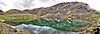 July 24, 2010 - Summit lake - <br /> a beautiful glacial lake with pristine reflections is located at mile 19 of Hatcher Pass Road north of anchorage. <br /> <br /> a pano shot of 3 images merged with photomerge in CS5, pretty neat feature