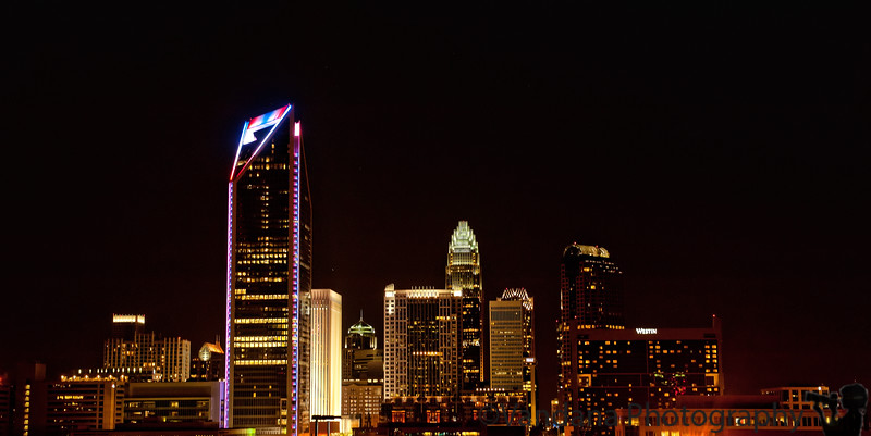September 11, 2011 - Remembering, 10yrs later.. from a peaceful Charlotte skyline