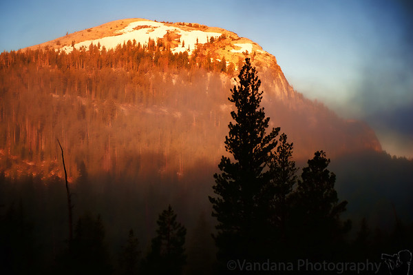 July 19, 2011 - Sunrise at Yosemite   taken from Fairview Dome where we spent the night, lost in Yosemite !