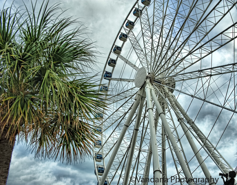 September 18, 2011 - the ferris wheel at Myrtle Beach, SC - weekend trip, about 3.5 hrs away from Charlotte