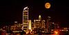 September 13, 2011 - Moon light in Charlotte