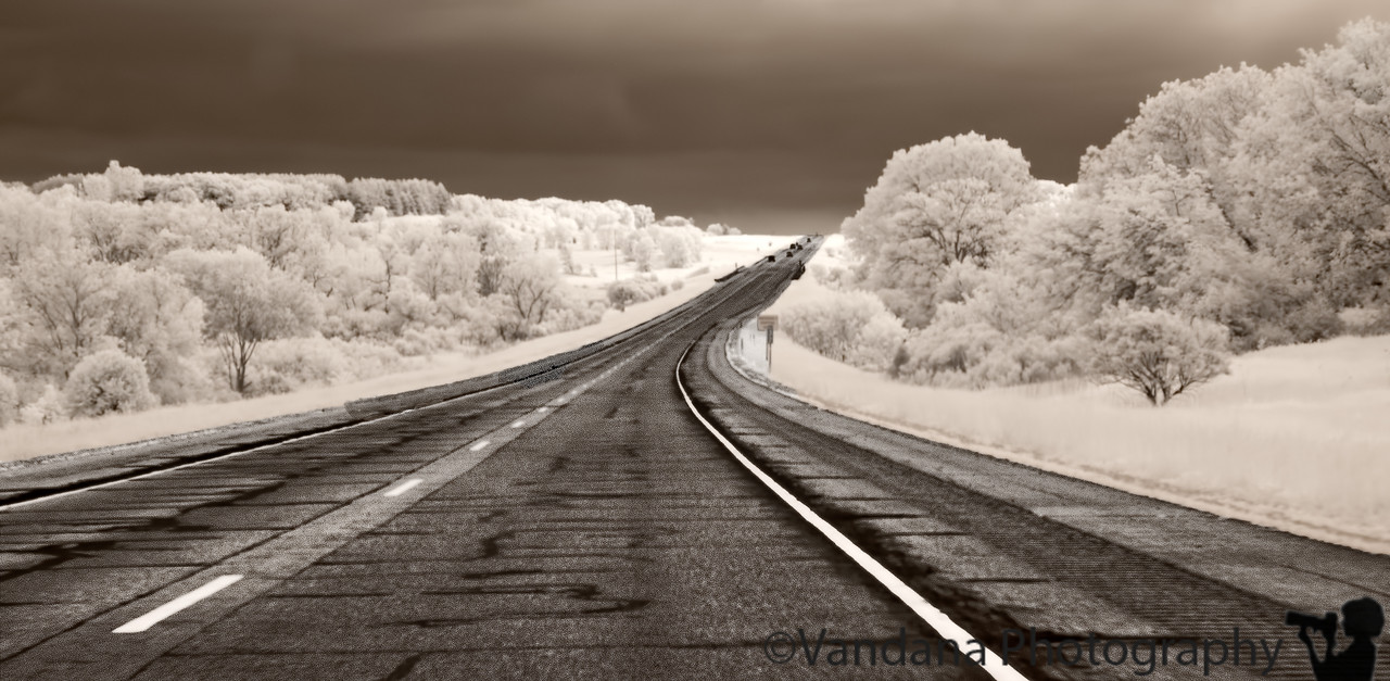 Jan 21, 2011 - On the road, in IR<br /> <br /> reach New Mexico tomorrow am !<br /> <br /> my iR shots are with a modified IR converted Nikon D80 - converted at lifepixels.com, I think