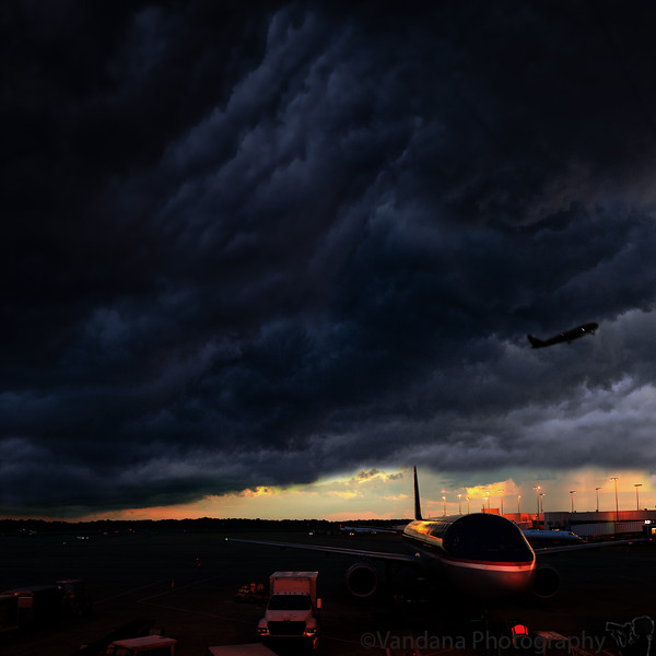 August 17, 2011 - the storm at Charlotte airport