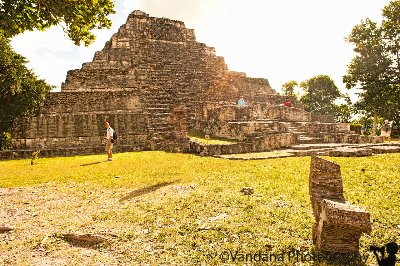 December 24, 2011 - Mayan temples at Chacchoben, Costa Maya, Mexico.<br /> <br /> thank you all for the wonderful comments on my 'baby bump' picture ! Me and K are very excited !