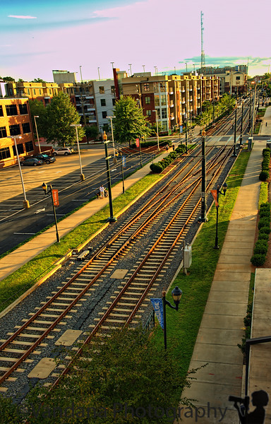 September 10, 2011 - the Lynx railroad, Charlotte