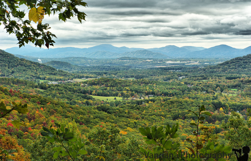 October 9, 2011 - Fall in the Blue ridge Parkway, NC <br /> <br /> a beautiful ride on colorful Blue ridge Parkway, with so many overlooks to look at the blue ridges and fall colors.. colors increasing the more we went west towards TN. 40 miles on the Blue ridge Parkway took us almost all day to drive, so many stops,so many photos ! in Cherokee tonight, will barely make it into smoky mountain national park tomorrow ! Hope to be back soon end of October for peak fall colors !