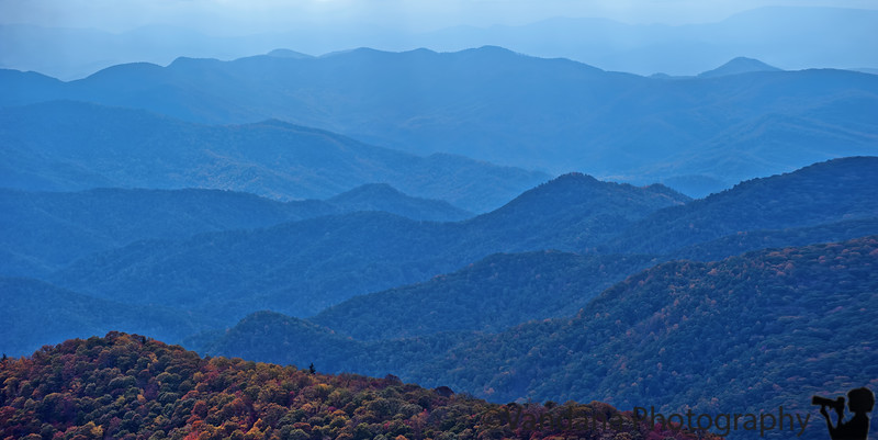 October 11, 2011 - The Blue ridges of blue ridge parkway<br /> <br /> thank you all so much for the comments on my fall shot yesterday ! much appreciated, you are wonderful !