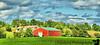 August 7, 2011 - farm landscape