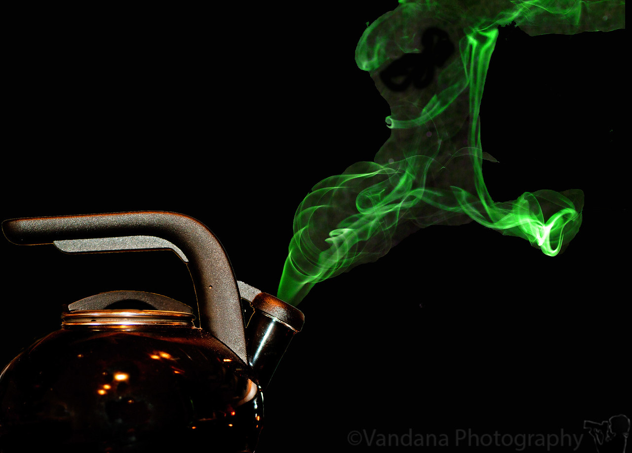 February 9, 2012 - Black magic<br /> <br /> my first attempt at smoke photography.. still battling a nasty cold, hope to get back on my feet and some outdoor photography soon !