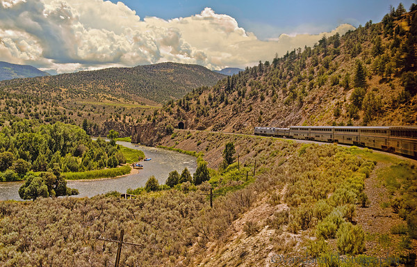 July 30, 2012 - The California Zephyr Amtrak train