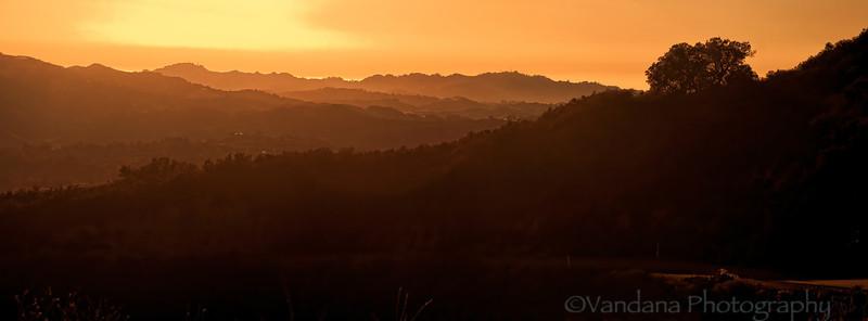 September 6, 2012 - Mist over the Diablo mountains