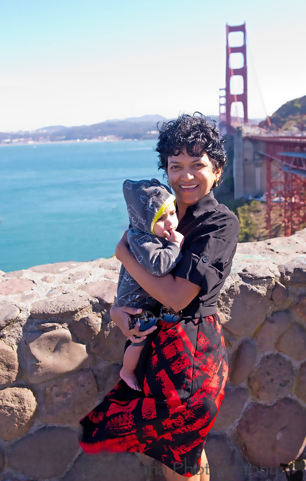 September 17, 2012 - a visit to the Golden gate