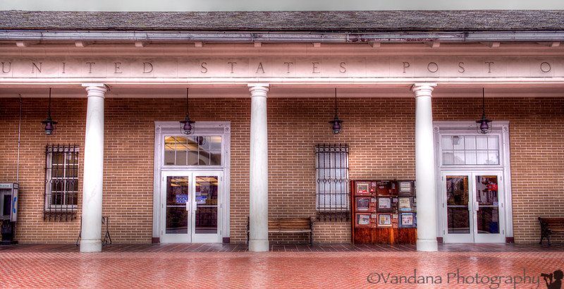 December 26, 2012 - US Post office, Monterey