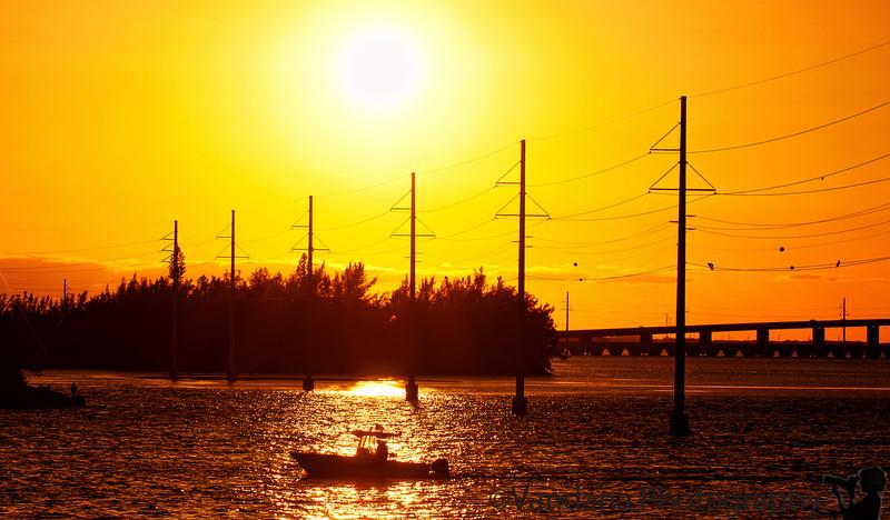 January 5, 2012 - Sunset at the Keys