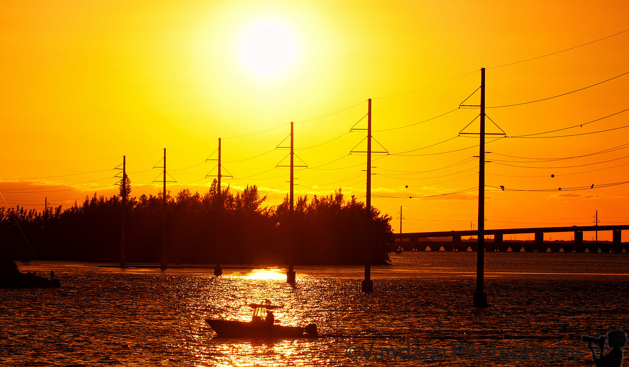 January 5, 2012 - Sunset at the Keys