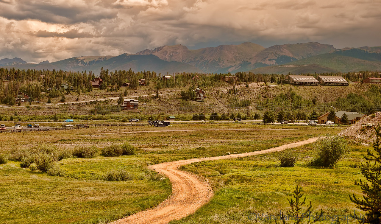August 9, 2012 - Rocky mountains, near Denver, CO - from the train ride