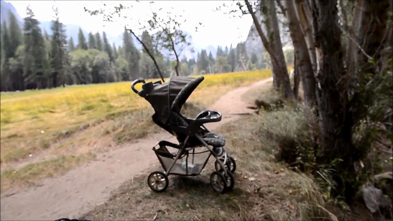 August 22, 2012 - At Yosemite on a hot, windy day