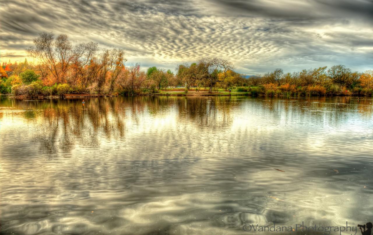 December 9, 2012 - Reflections at Heather Farm Park Lake