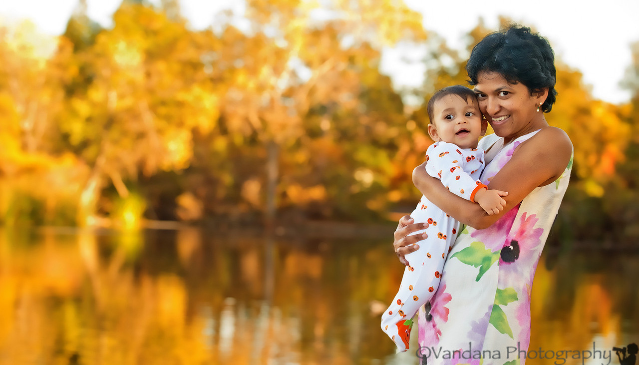 October 30, 2012 - V and Arjun at the park<br /> <br /> Happy Halloween !