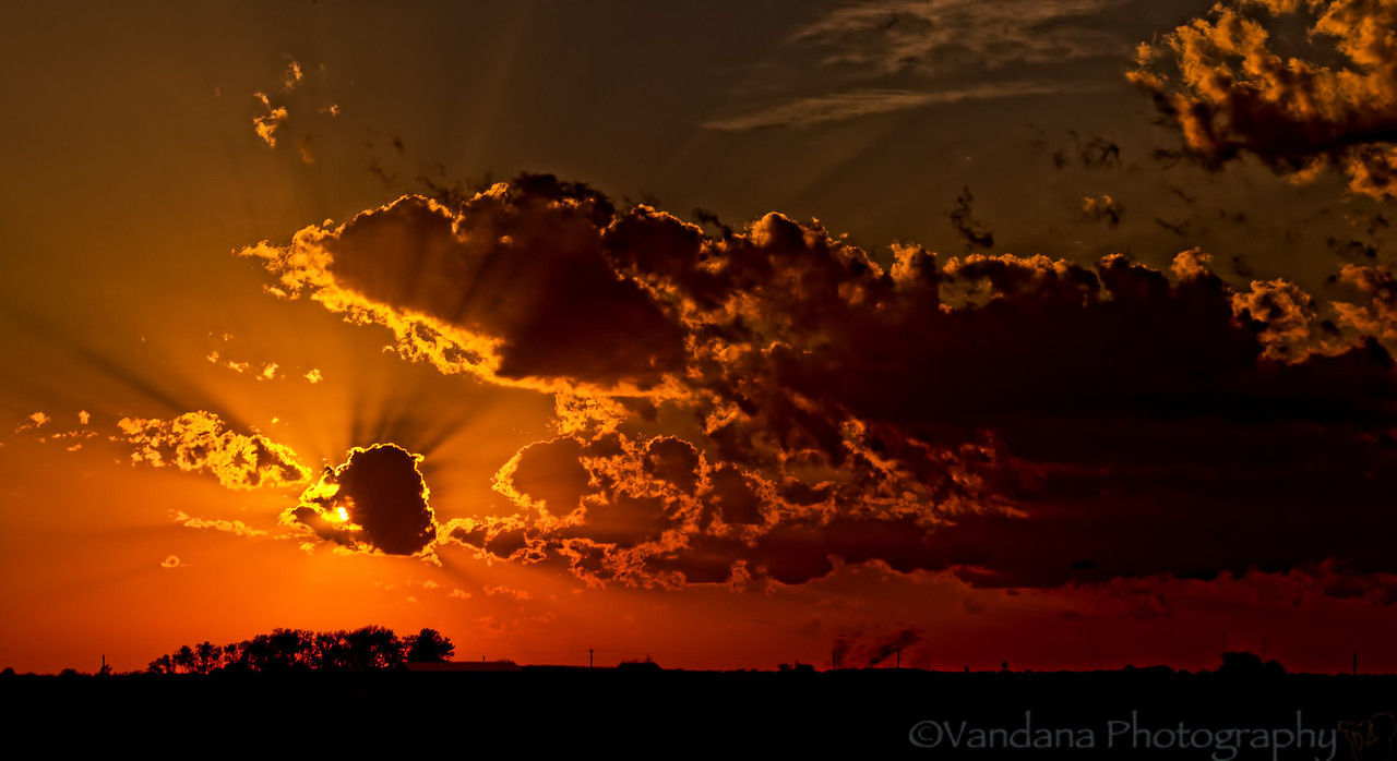 July 31, 2012 - a glorious sunset