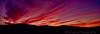 September 23, 2012 - a fiery sunset