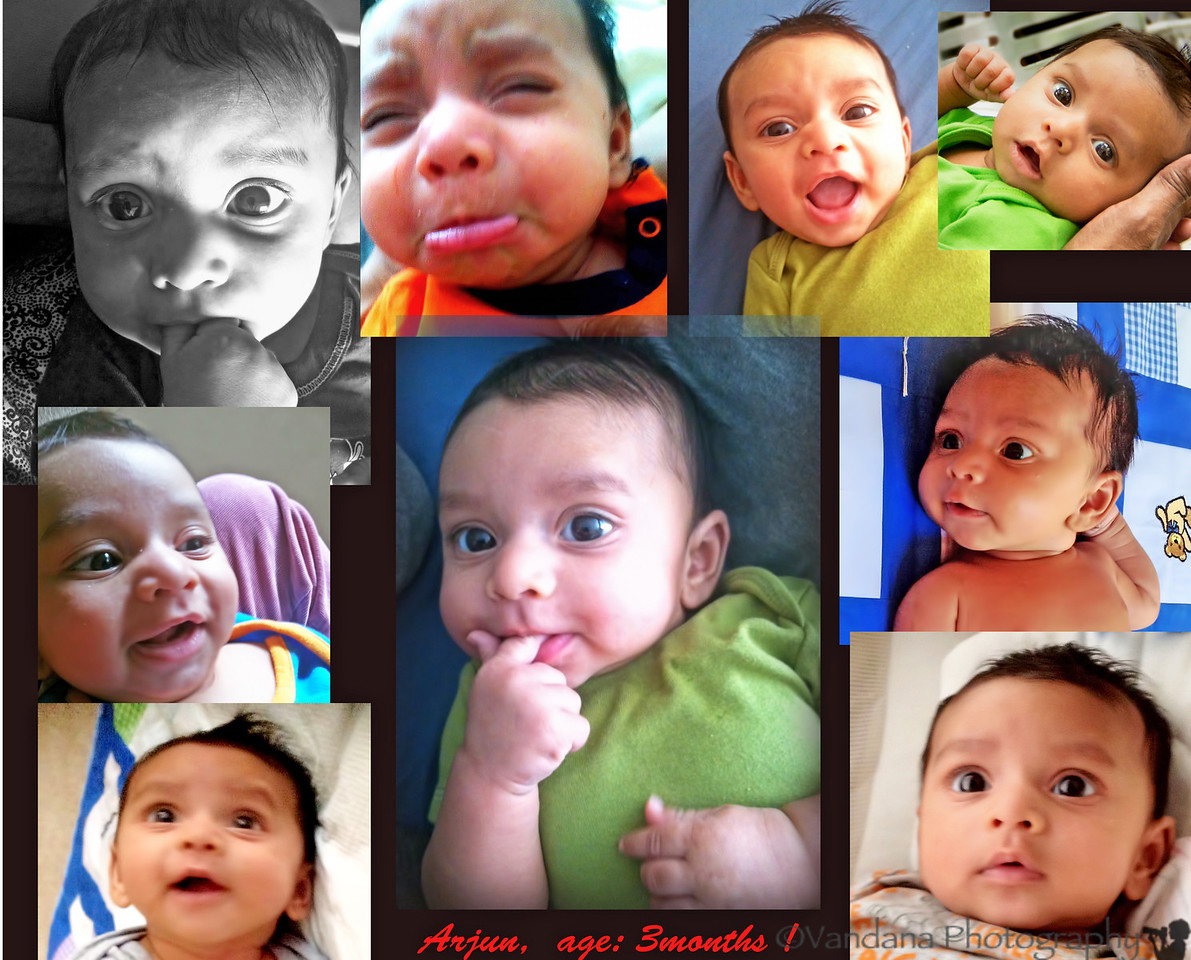 July 18, 2012 - Arjun, 3 months old !