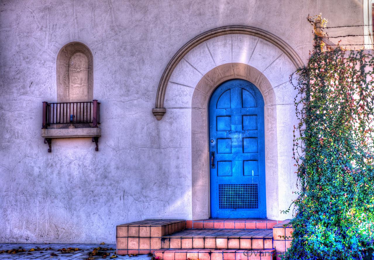 December 29, 2012 - The blue door