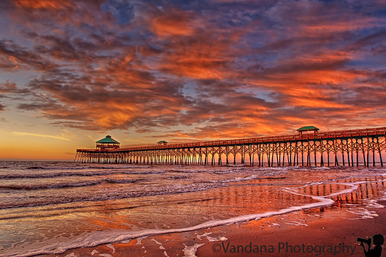 January 19, 2012 - Pier at Folly beach at sunrise<br /> <br /> thanks for the comments on my shot from Magnolia plantation, and remembering Ginger !