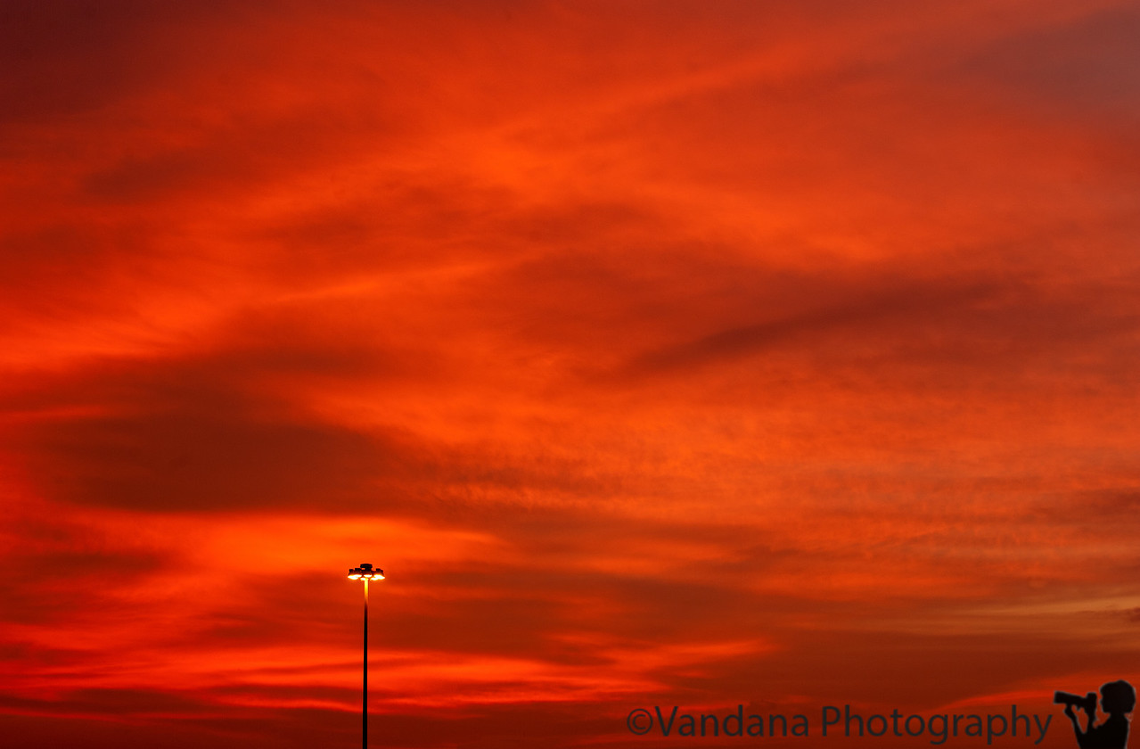 February 23, 2012 - Sunrise in Charlotte<br /> <br /> a beautiful blood-red sunrise to view in the morning, made my day ! thanks for all the wonderful comments on my shots !
