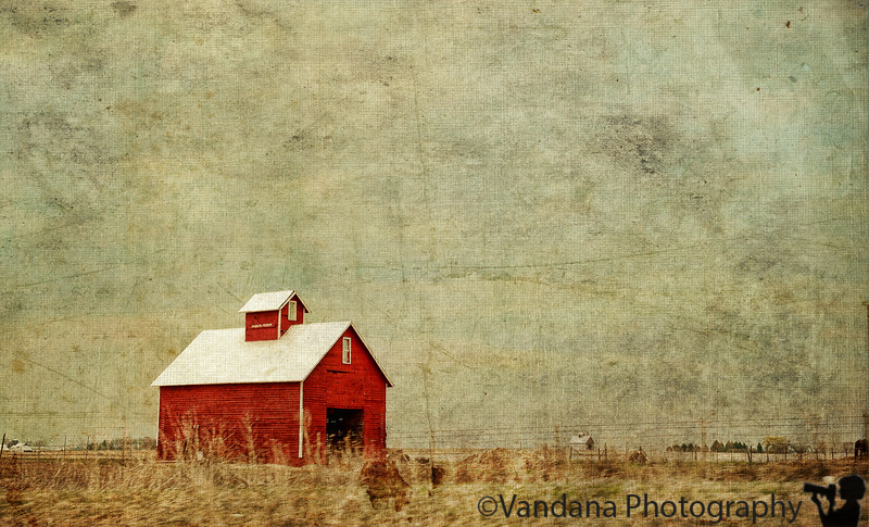 January 25, 2012 - the red barn<br /> <br /> playing with textures :) !