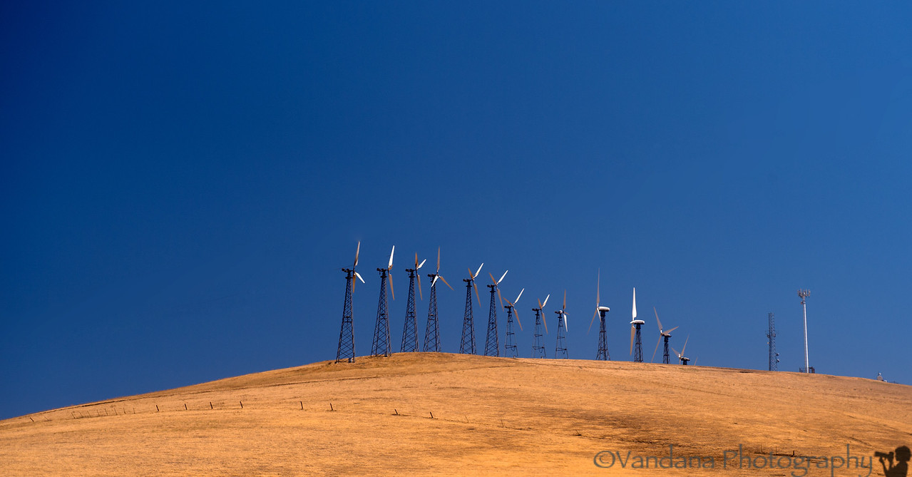 August 13, 2012 - Windmill farm near Livermore, CA<br /> <br /> Back to work !