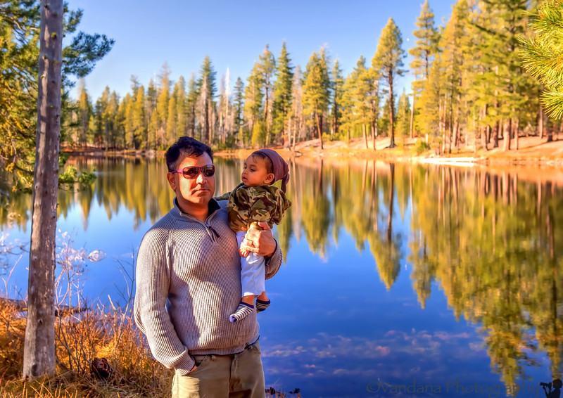 December 19, 2012 - At Manzanita lake, photo over a weekend some days back.