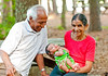 May 22, 2012 - Arjun with his grandparents