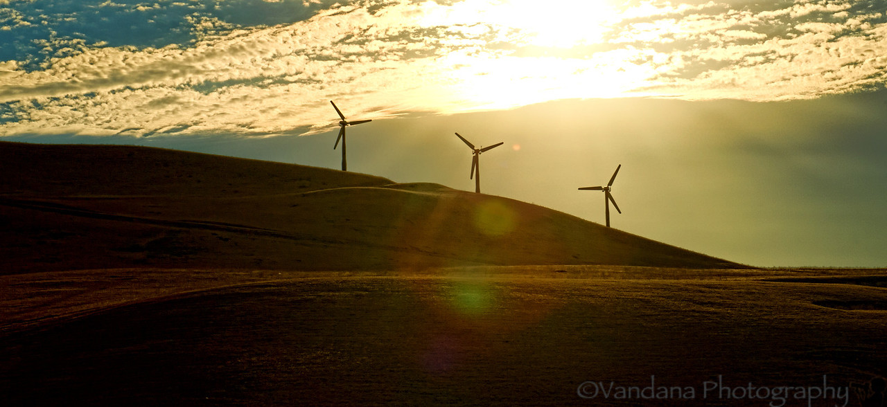 September 26, 2012 - The windmills