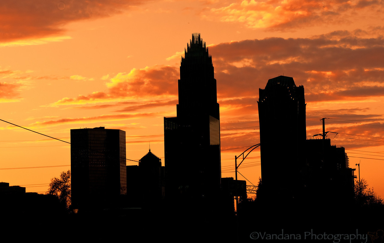 March 20, 2012 - Sunset in Charlotte