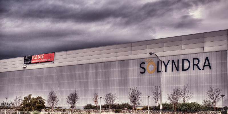 December 27, 2012 - Dark clouds over Solyndra !