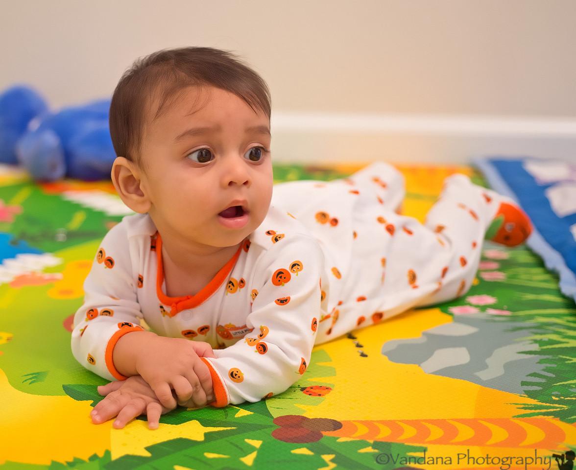 November 5, 2012 - Sick Arjun :( -- photo from a few days back.