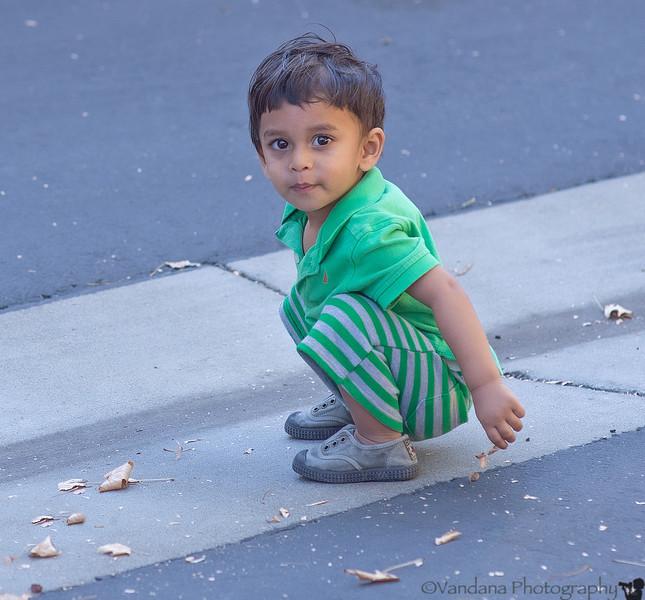 November 14, 2013 - Arjun at play