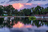 September 21, 2013 - a beautiful sunset at Heather Farm Park, Walnut Creek, CA