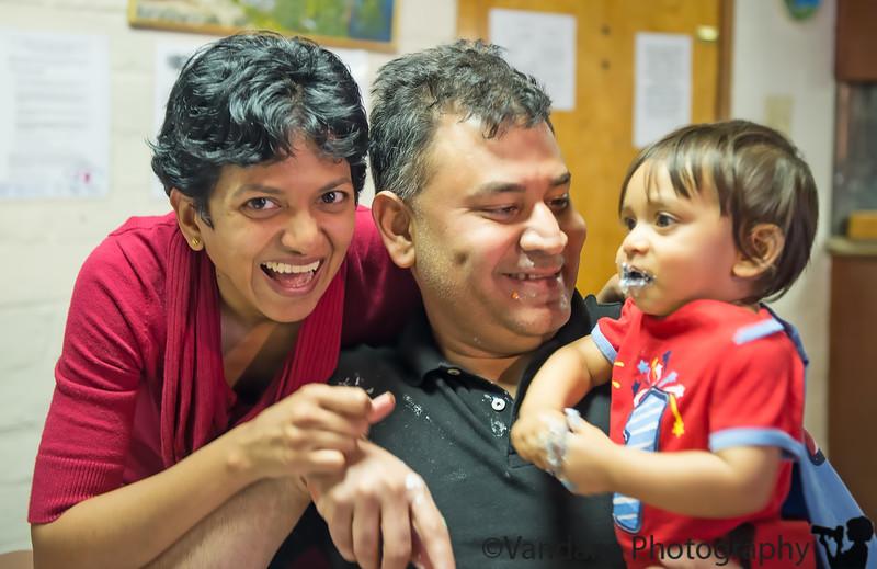 April 18, 2013 - Happy 1st birthday to Arjun !!