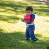 October 20, 2013 - Playing ball